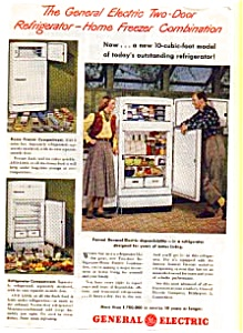 General Electric Refrigerator Ad 1940s (Image1)