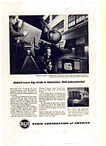 RCA TV Ad 1940s (Image1)