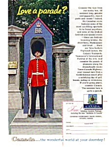 Canadian Travel Bureau Summer Pageantry Ad (Image1)