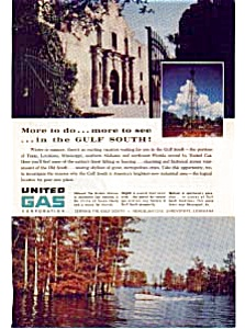 United Gas Gulf South Vacations Ad Auc026113