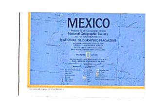 Mexico Map May 1973