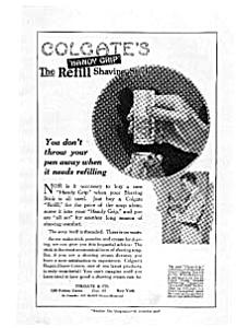Colgate's Refill Shaving Stick Ad Mar 1922 (Image1)