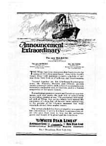 White Star Line Ad Mar 1922 (Image1)