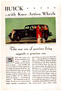 1934 Buick Ad