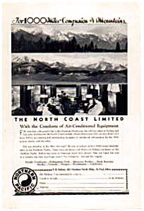 Northern Pacific North Coast Limited Ad auc033411 (Image1)