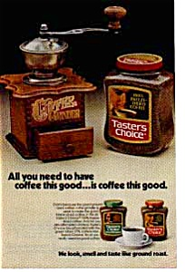 Taster s Choice Coffee Ad auc033420 (Image1)