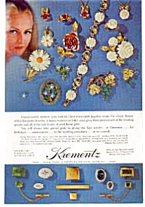 Krementz  Jewelry Ad 1968 (Image1)