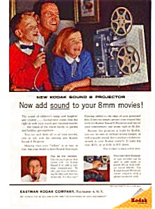 Kodak Sound 8 Projector Ad Mar 1961 (Image1)
