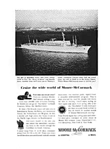 Moore-McCormack SS Argentina Ad (Image1)