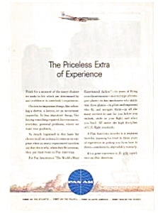 Pan Am The Experienced Airline Ad Auc036122