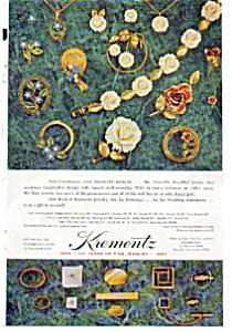 Krementz  Jewelry Circle Brooch Ad auc037 1967 (Image1)