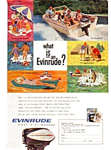 Evinrude Outboards Ad April 1961 (Image1)