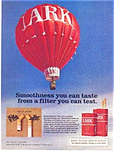 Lark Filter Cigarette Ad Hot Air Balloon (Image1)