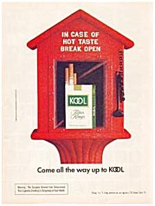 Kool Cigarette Ad ca.1974 (Image1)