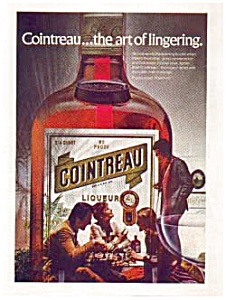 Cointreau Liqueur Ad auc0514 ca.1974 (Image1)