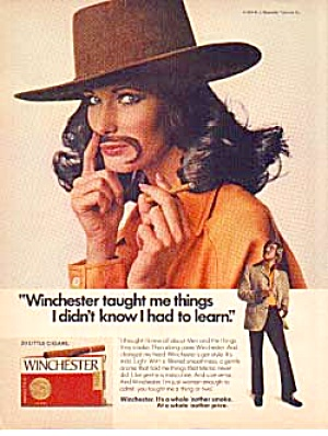 Winchester Little Cigar Ad ca.1974 (Image1)