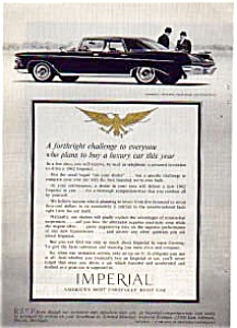 1962 Chrysler Imperial Ad auc053 (Image1)
