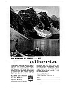 Alberta Travel Bureau Ad May 1963 (Image1)