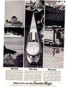 Canadian Pacific Travel Ad May 1963 (Image1)