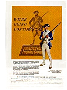 Continental Insurance Soldier Ad auc056307 (Image1)