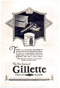 Gillette Safety Razor Ad 1923 (Image1)