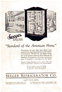 Seeger Siphon Refrigerators Ad 1923 (Image1)