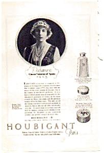 Houbigant Cosmetics Ad 1923 (Image1)