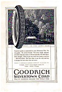B.F.Goodrich Silvertown Cord Tire Ad 1923 (Image1)