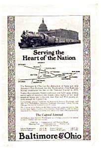 Baltimore and Ohio Railroad Ad auc062330 1923 (Image1)