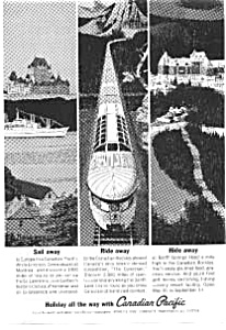 Candian Pacific  Holiday Ad auc066333 (Image1)