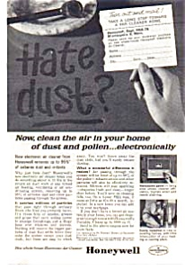 Honeywell Electronic Home Air Cleaner Ad (Image1)