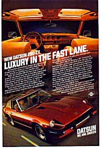Datsun Luxury 280-zx Ad