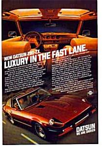 Datsun Luxury 280 ZX Ad auc074914 (Image1)