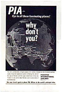 Pakistan International Airlines Ad Auc074915