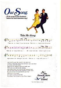 United Airlines Our Song Ad Auc074922