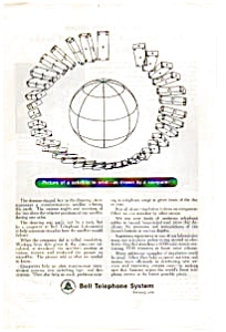 Bell Telephone Satellite Ad Auc076407