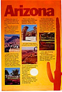 Arizona Tourism Ad 1970s (Image1)