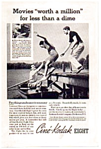 Cine-Kodak Eight Movie Camera Ad (Image1)