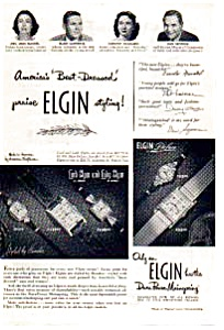 Elgin Watch Ad 1940s (Image1)
