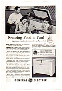General Electric Chest Freezer Ad (Image1)