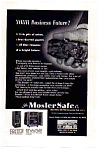 Mosler Safe Co Ad (Image1)