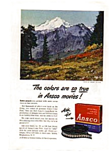 Ansco Movie Film Ad Sep 1948 (Image1)