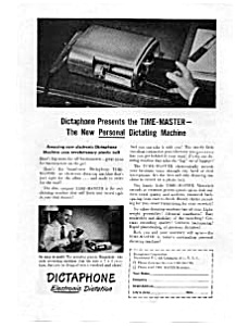 Dictaphone Time Master Ad Sep 1948 (Image1)