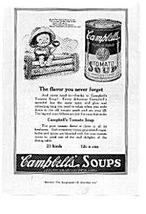 Campbells Tomato Soup Ad 1921