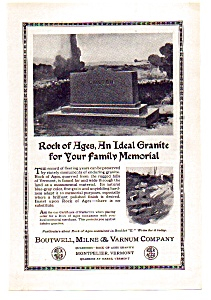 Rock of Ages Ad 1924 (Image1)