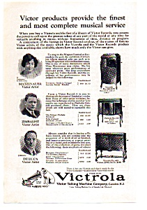 Victrola Talking Machine Ad auc112404 1924 (Image1)