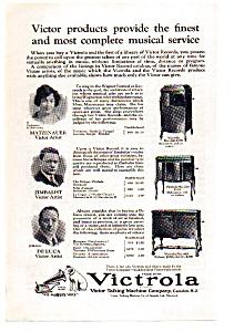 Victrola Talking Machine Ad auc112404 1924 (Image1)