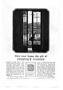 Plate Glass Perfect Vision  Ad 1924 (Image1)