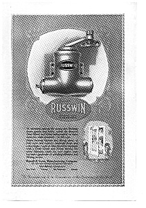 Russwin Door Check and Closer  Ad 1924 (Image1)