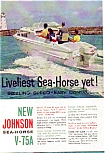 Johnson Sea-Horse V-75A Ad (Image1)